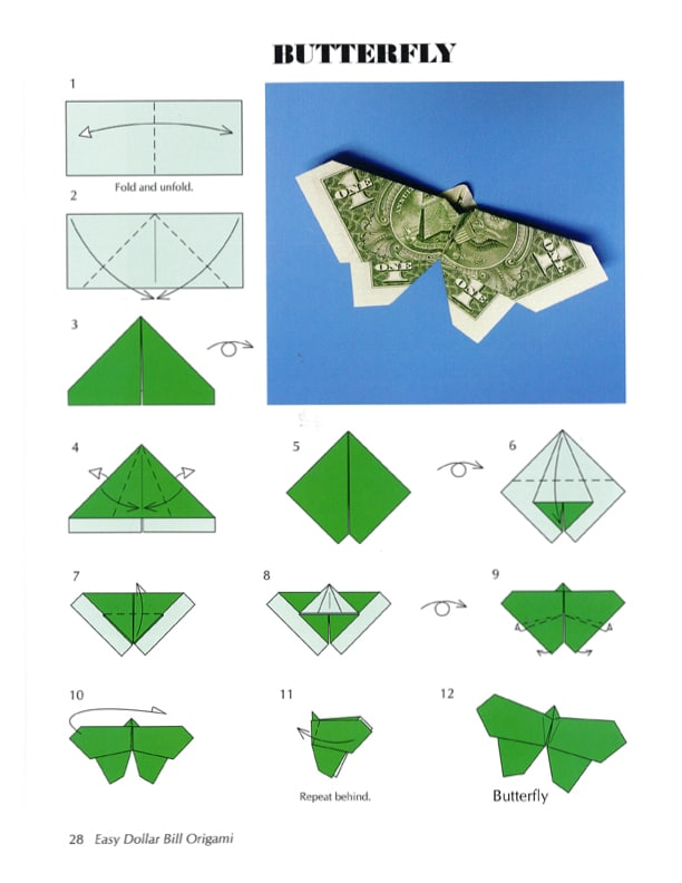 Best Origami Butterfly Ever — Instructions | Go Origami | 792x612