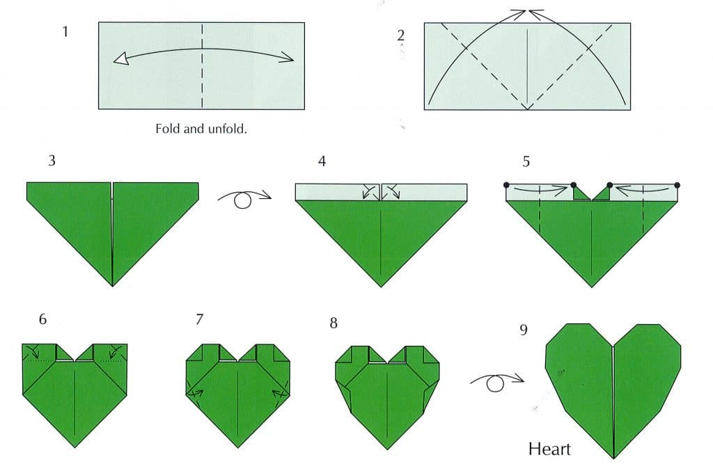 HOW TO MAKE ORIGAMI BLOSSOM HEARTS. — Gathering Beauty | 680x1024